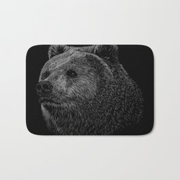 Bear Grizzly Bath Mat