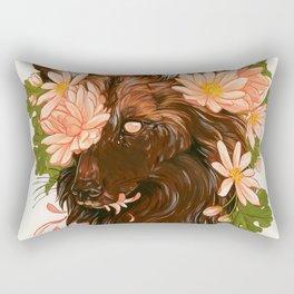 Lycaon Pictus Rectangular Pillow