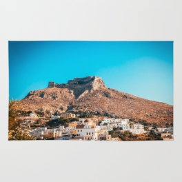 The castle of Leros Rug