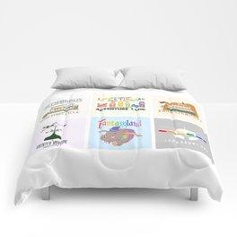 Designers United - All Six Designs Comforters