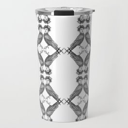Harpy pattern Travel Mug
