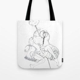 Cosmic Shaman Tote Bag