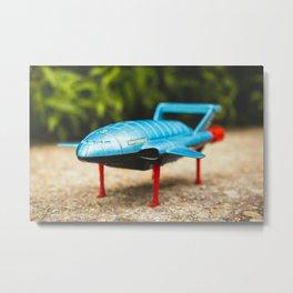 Lightning Bird Lift Off Metal Print