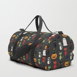 Halloween Cats Duffle Bag