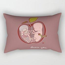 Drain You Rectangular Pillow