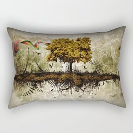 Space in Time  Rectangular Pillow
