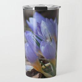 Crocus etruscus in silva Travel Mug