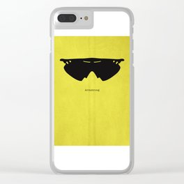 Armstrong Spectacles Clear iPhone Case