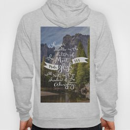 Psalm 91 with Background Hoody