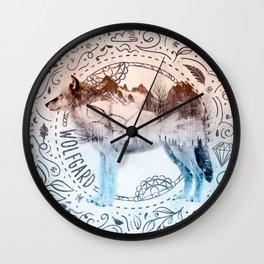 Wolfgard (Terra Indigene) Wall Clock