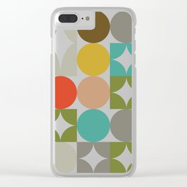 Mid Century Classic Clear iPhone Case