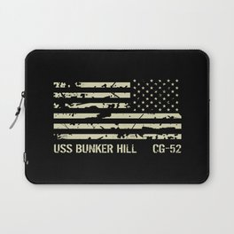 USS Bunker Hill Laptop Sleeve