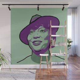 Zora Neale Hurston Wall Mural