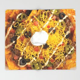 Nachos Throw Blanket