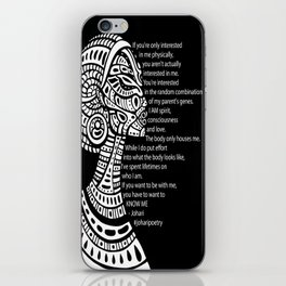 If You Want To Be With Me iPhone Skin