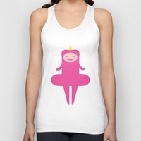 princess Tank Tops featuring Princess by Faryn Akita