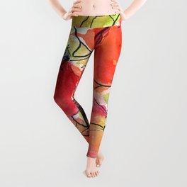 poppies = summer  Leggings