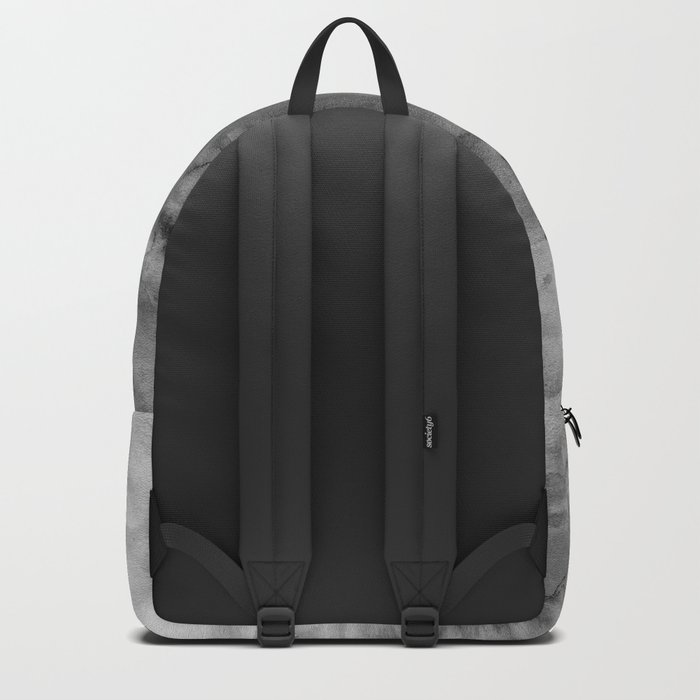 Black watercolor Backpack