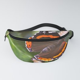 Admiral On The Apple Tree Branch #decor #society6 Fanny Pack