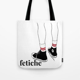 fetiche #1 (white) Tote Bag