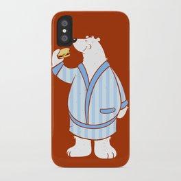 Burger Bear iPhone Case