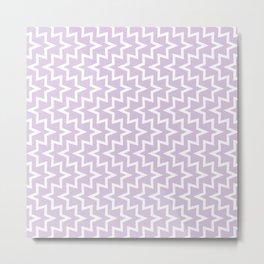 Sea Urchin - Light Purple & White #922 Metal Print