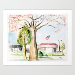 A Peaceful Afternoon Art Print