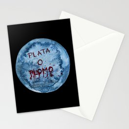 Plata o Plomo Stationery Cards