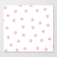 SUMMER 2017 - CORAL PATTERN 2 Canvas Print