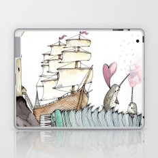 Accordion Sea Laptop & iPad Skin