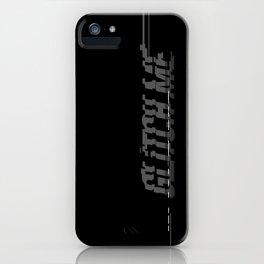 Glitch Me iPhone Case