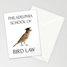 Philadelphia School of Bird Law Stationery Cards