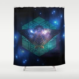 Eagle Ray Shower Curtain