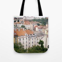 Prague Rooftops Tote Bag