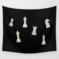 chess Wall Tapestries featuring Chess by dreamshade