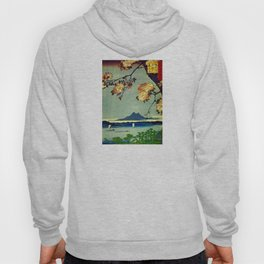Hiroshige, Springtime In Japan, Thinking Of You Hoody