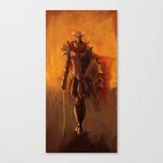 From The Flames Canvas Print