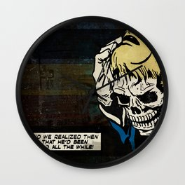 Dead All the While Wall Clock