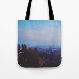 Desert Garden View Tote Bag