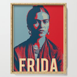 Frida Kahlo Hope Pop Art Serving Tray