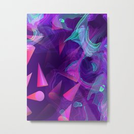 You're In Over Your Head Metal Print