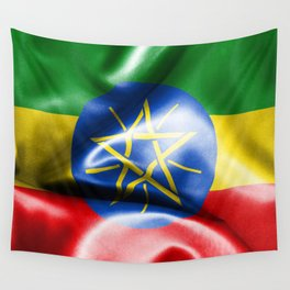 Ethiopia Flag Wall Tapestry