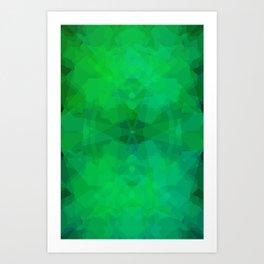 Green#1 Art Print