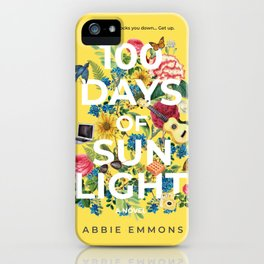 100 Days of Sunlight Cover Art iPhone Case