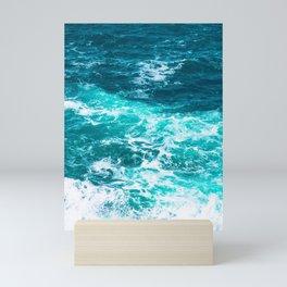 Marble Ocean - Ocean Photography Mini Art Print