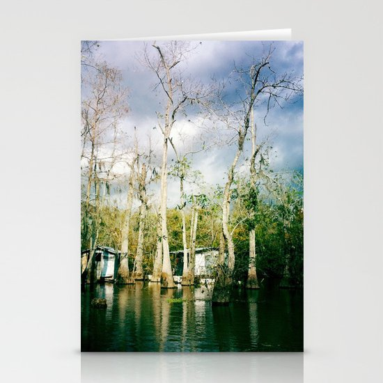 swamp land Stationery Cards
