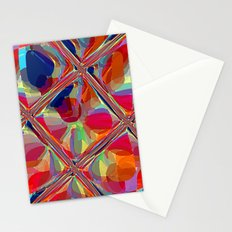 Re-Created  Glass Ceiling VIII by Robert S. Lee Stationery Cards