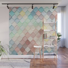 Colorful Mosaic Pattern Wall Mural