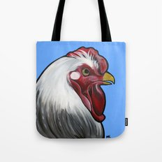 Buddy the rooster Tote Bag