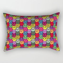 Bear under cover - colour Rectangular Pillow